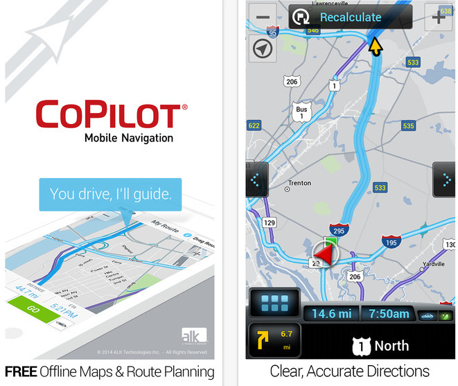 Best iPhone 6 / 6 Plus Navigation app without internet