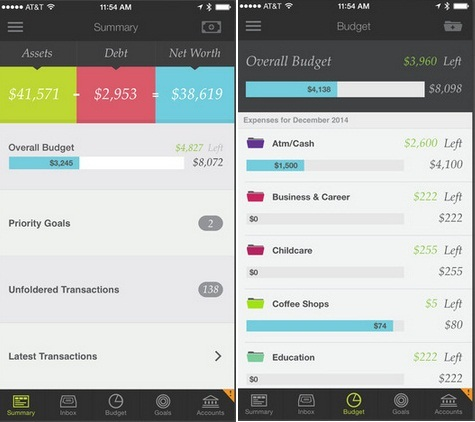 How to control my spend cost of each month using iPhone