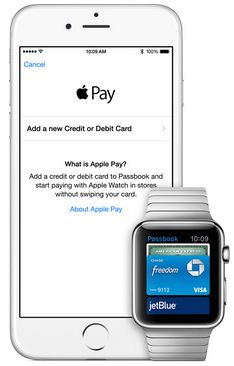 apple pay on Apple Watch through iPhone from iOS device
