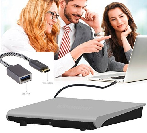 1 Novapolt External DVD writer for MacBook