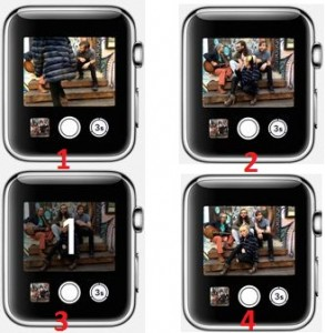 How to take photo from iPhone remotely through Apple Watch