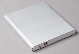 Aluminium Body External Drive for Mac OS X, WIndows