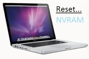Reset NVRAM on Mac OS X Yosemite, Mavericks