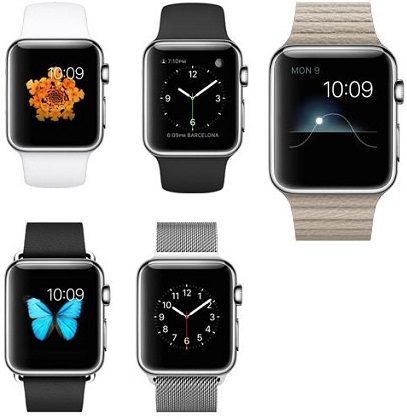 Apple Watch features and comparison 2015 for best Buy