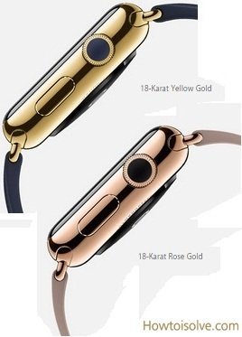 Apple Watch Edition features