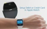 setup debit or Credit Card on Apple Watch