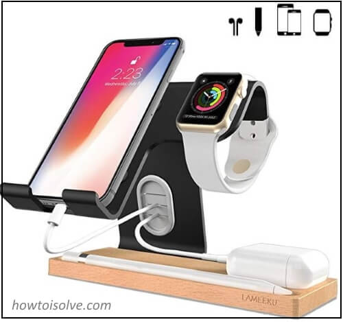 Charging Dock and Stand for Apple Watch and Airpods iPhone Apple pencil