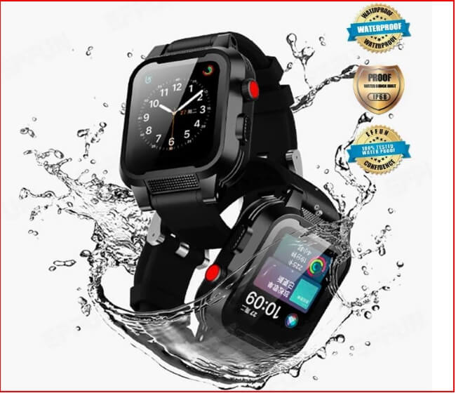EFFUN Apple Watch Waterproof case for Apple Watch 4, Apple Watch 3 & 2 &1