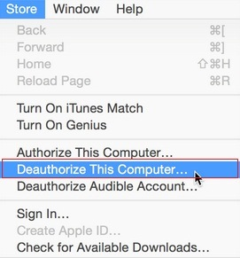 How to Deauthorize Mac from iTunes Store