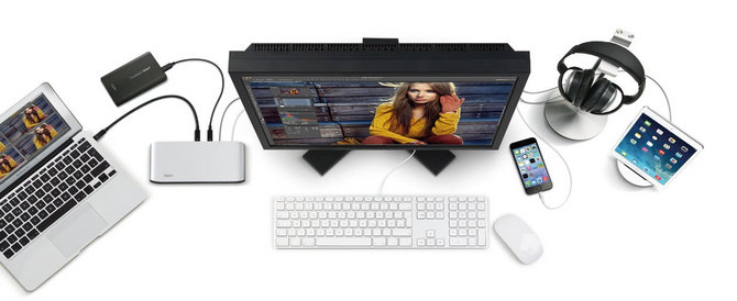 Vertical design Best MacBook Pro docking station
