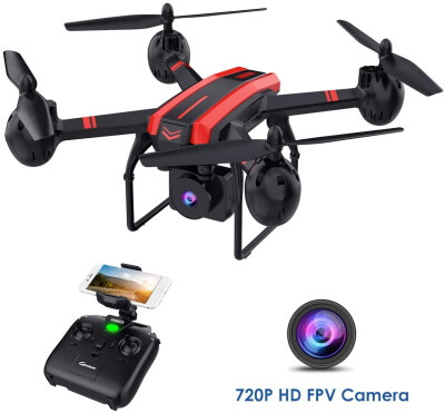 SANROCK Quadcopter Drone with HD camera