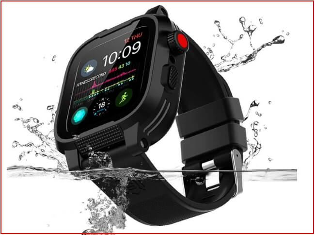 Shellbox Apple Watch Waterproof case in 38mm and 42mm and 44mm