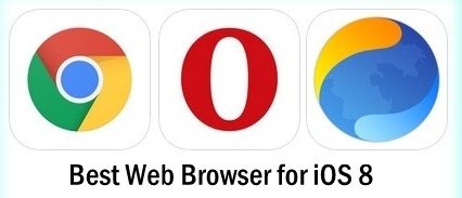 Best Alternate Web Browser for iPhone 6 , Alternative of safari browser for iPhone, iPad and iPod Touch