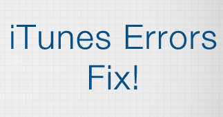 iTunes error on iOS 9, iOS 8, iOS 7, iOS 6