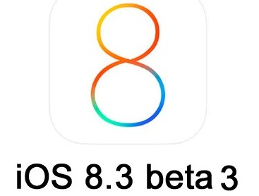 What's New in Apple iOS 8.3 beta 3 features