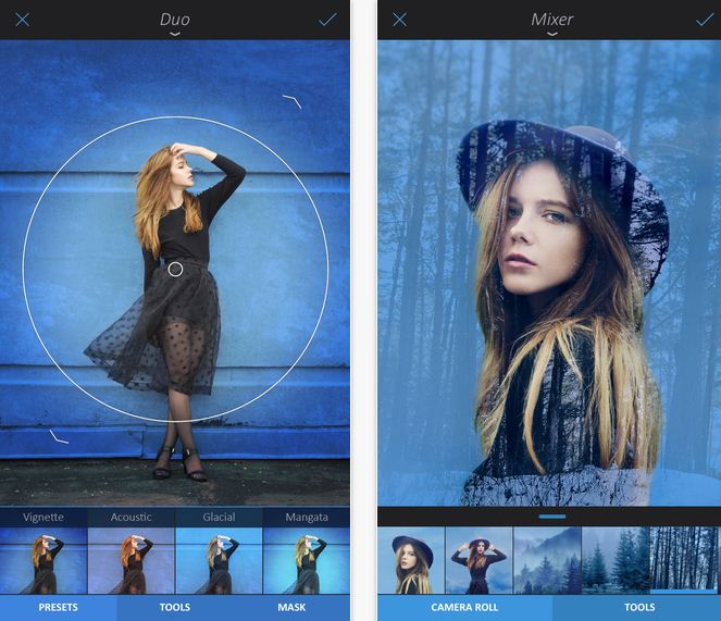Enlight Photo Camera app for iPhone