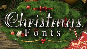 Christmas Font Style for Mac