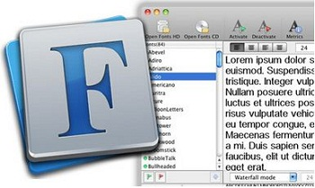 Pro Mac fonts style for Multiple user
