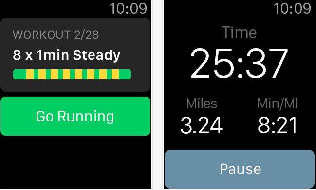 RunKeeper health and fitness app