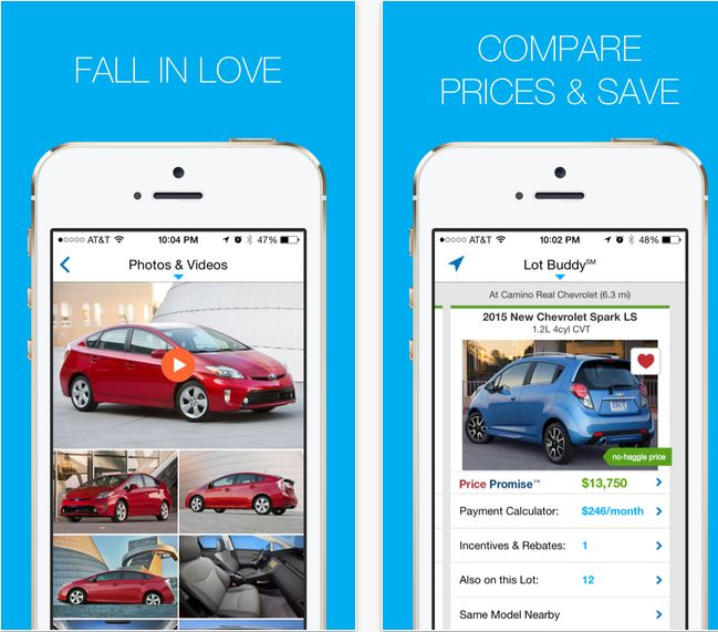 Best Car buying and selling guide app