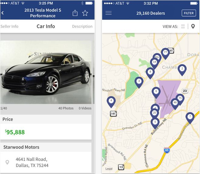 Car Buying and Selling free apps for iOS device
