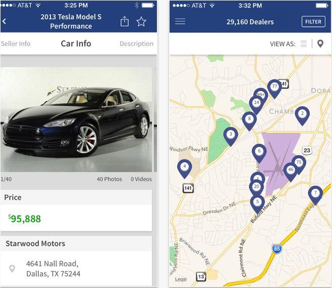 Best Car Buying App Usa