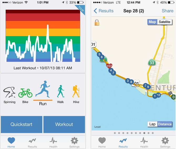 Digifit iPhone, iPad apps for iOS