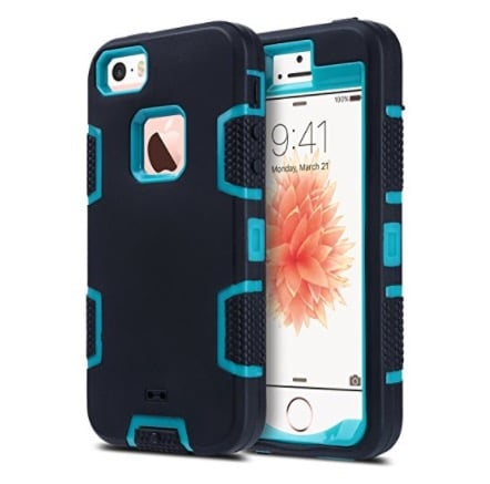 4 Drop Resistant Shockproof iPhone 5S case