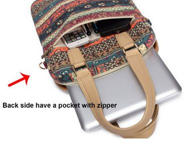 Shoulder Bag for MacBook 12 zipped