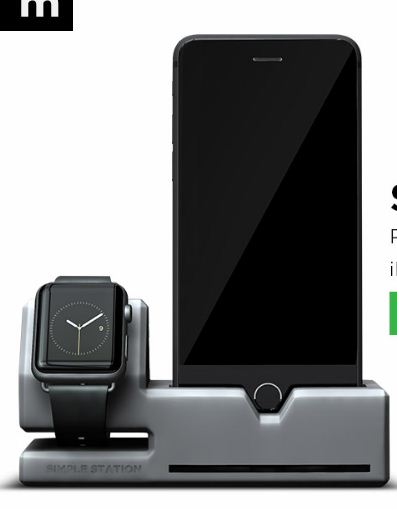 Thinkbym: Stylish Design Apple watch battery charging Stands