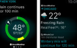 Best Weather widgets for Apple Watch