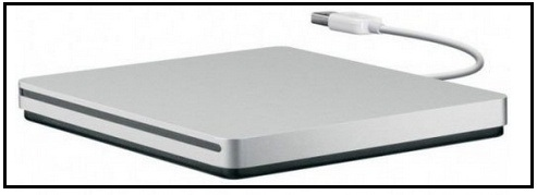 external drive - Apple USB Super Drive