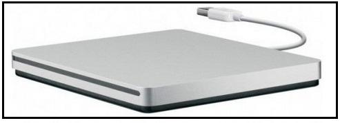 external drive - Apple USB Super Drive
