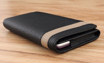 Black Clip hostler case for iPhone 6 Plus