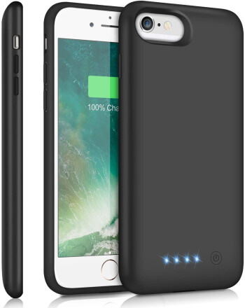 Feob Portable Charging Extended Case for iPhone 6
