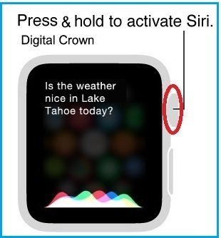 How to Use or Activate Siri on Apple Watch – Sport, Edition