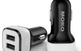 Moko Multi port USB car charger