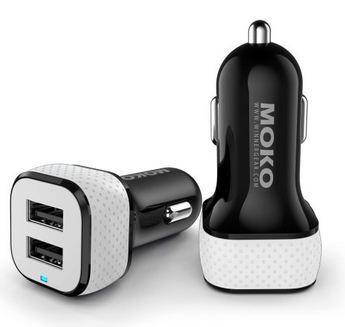 Moko Multi port USB car charger