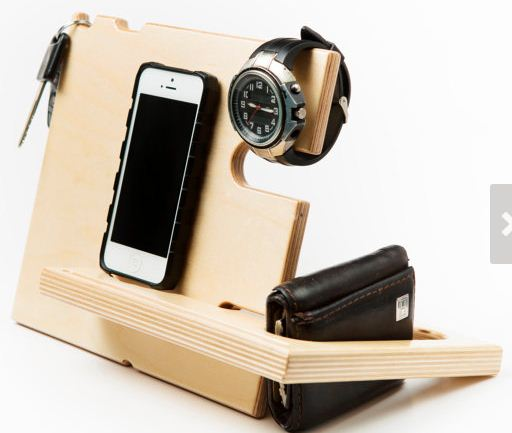 hand made apple watch dock