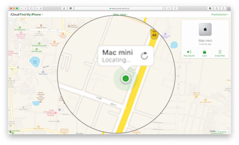 icloud com for find your Mac
