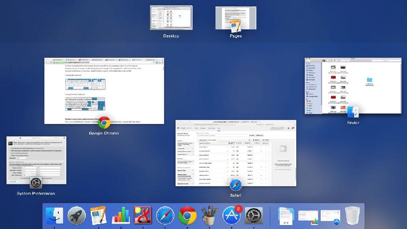 See Preview of all Open document and Folder on Mac OS X Yosemite and Mavericks