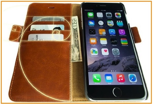 2 Dreem iPhone 6 leather case