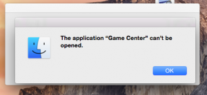 Disable/ Enable Game Center on Mac OS X Account