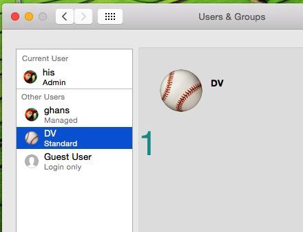 Создание и удаление пользователя в созданной учетной записи Mac OS X