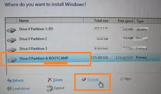 Install windows 7 on Mac using bootcamp