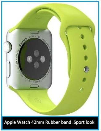 Best Apple Watch 42mm Rubber band: durable, Sleek