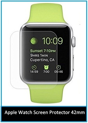 Durable 42mm Apple Watch Glass Screen Protector