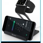 Best iPhone and Apple Watch charging Station: Dual stands