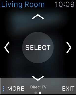 control TV using Apple watch remotely access