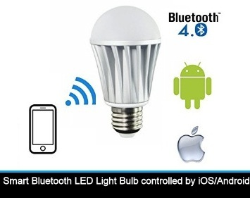 Best bluetooth light bulb and speaker controlled by iphone for Best bluetooth light bulb speaker